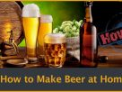 How to make beer at home